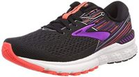Brooks Damen Adrenaline Gts 19 Laufschuhe, Schwarz (Black/Purple/Coral 080), 35.5 EU