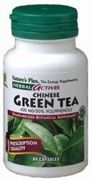 Chinese Green Tea Extract 400mg Nature's Plus 60 Caps by Nature's Plus