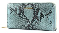COCCINELLE Metallic Python Zip Around Wallet L Atmosphere