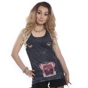 Cupcake Cult Girlie Tank Top - Panther Vest M