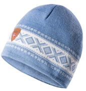 Dale of Norway Unisex Wollmütze Cortina blau, weiß