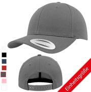 FLEXFIT - Curved Classic Snapback - Farbe - Charcoal - Größe - One Size