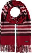 FRAAS Cashmink® Scarf with FRAAS Plaid Red