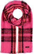 FRAAS Cashmink® stole with FRAAS pattern Pink