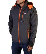 Geographical Norway - Bekleidung - Jacken - Tranco_man_dgrey-orange - Herren - dimgray,orange