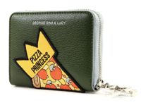 GEORGE GINA & LUCY Let Her Wallet Mbee Wallet Olive Patch