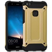 Huawei P10 Lite Hülle Outdoor Case - Gold