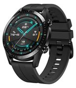 HUAWEI Watch GT 2 Smartwatch (46mm, OLED Touch-Display, Fitness Uhr mit Herzfrequenz-Messung, Musik Wiedergabe & Bluetooth Telefonie, 5ATM wasserdicht) matte black