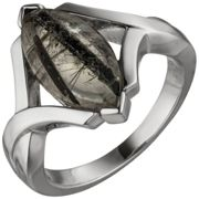 JOBO Damen Ring 54mm 925 Sterling Silber 1 Turmalinquarz