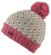 KuSan Bobble Hat Fleur De Lis rose - Größe One size
