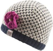 KuSan Brooklyn Cap with Flower blue - Größe One size