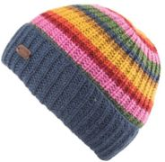 KuSan Cardi Rib Turn Up Hat blue - Größe One size