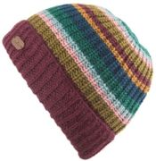 KuSan Cardi Rib Turn Up Hat plum - Größe One size