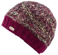 KuSan Double Cable Twisted Yarn Brooklyn Cap berry - Größe One size