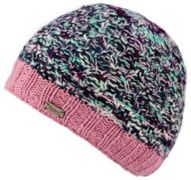 KuSan Double Cable Twisted Yarn Brooklyn Cap pink - Größe One size