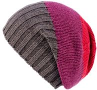 KuSan Merino Floppy Beret red purple - Größe One size