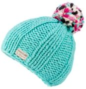 KuSan Thick Yarn Multi Bobble Hat aqua - Größe One size