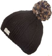 KuSan Thick Yarn Multi Bobble Hat black - Größe One size