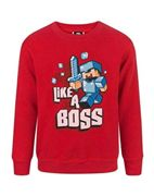 Minecraft Like a Boss Jungen Pullover (5-6 years)