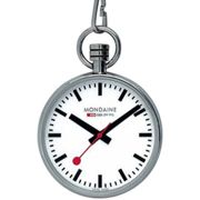 Mondaine Official Swiss Railways Pocket Watch Art. A660.30316.11SBB