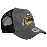 Los Angeles Lakers New Era 9FORTY A-Frame Trucker Jersey Essential Mütze