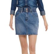 Only Damen Kleid / Rock 15195868-onlmil Blau S