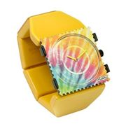 S.T.A.M.P.S. Stamps Uhr KOMPLETT - Zifferblatt Fan Out auf Belta Y Crystal Yellow