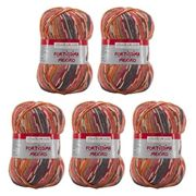 Schoeller Stahl 4014816210023 Fortissima Color Wolle, Schurwolle, Bordeaux, 420m, 5