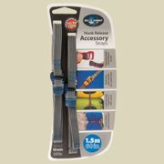 Sea to Summit Tie Down Accessory Straps with Hook Release Packriemen Breite 10 mm Länge 1,5 m