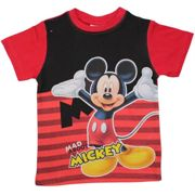 T-Shirt Mickey Mouse UV Rot - 2 Jahre