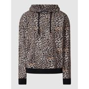 Tigha Hoodie mit Leopardenmuster Modell 'Aime' Sand XL