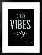 """Vervaco Stickpackung Zählmuster """"Good vibes only"""""""