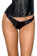 Wetlook String in schwarz Axami S