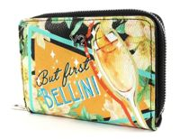 Y NOT? Bellini Flap Wallet Black