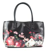 Y NOT? Botanic Handbag Double Black