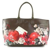 Y NOT? Botanic Tote Green