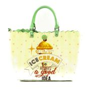 Y NOT? Icecream Shopper S Green