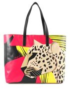 Y NOT? Leopard Shopper Leopard Pink